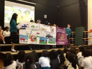 School Assembly on Air Quality
